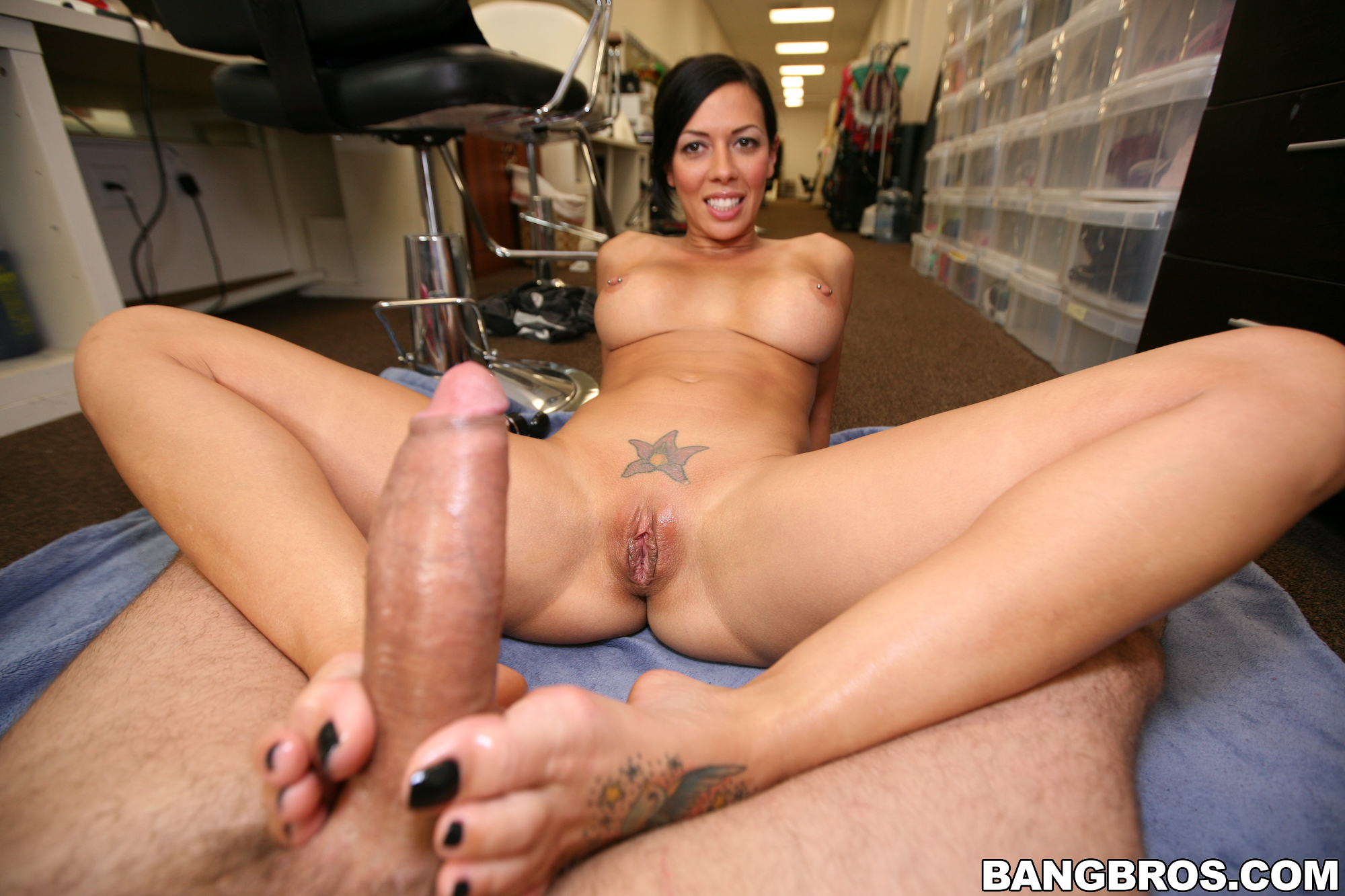 Idea Porn star foot sex
