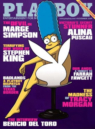 Playboy - Marge Simpson  Cover
