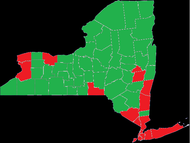 Realistic Or Garbage County Map Clinton Could Still Win By 20 On A Map Like This Since A Majority Of The Votes Will Be Coming From