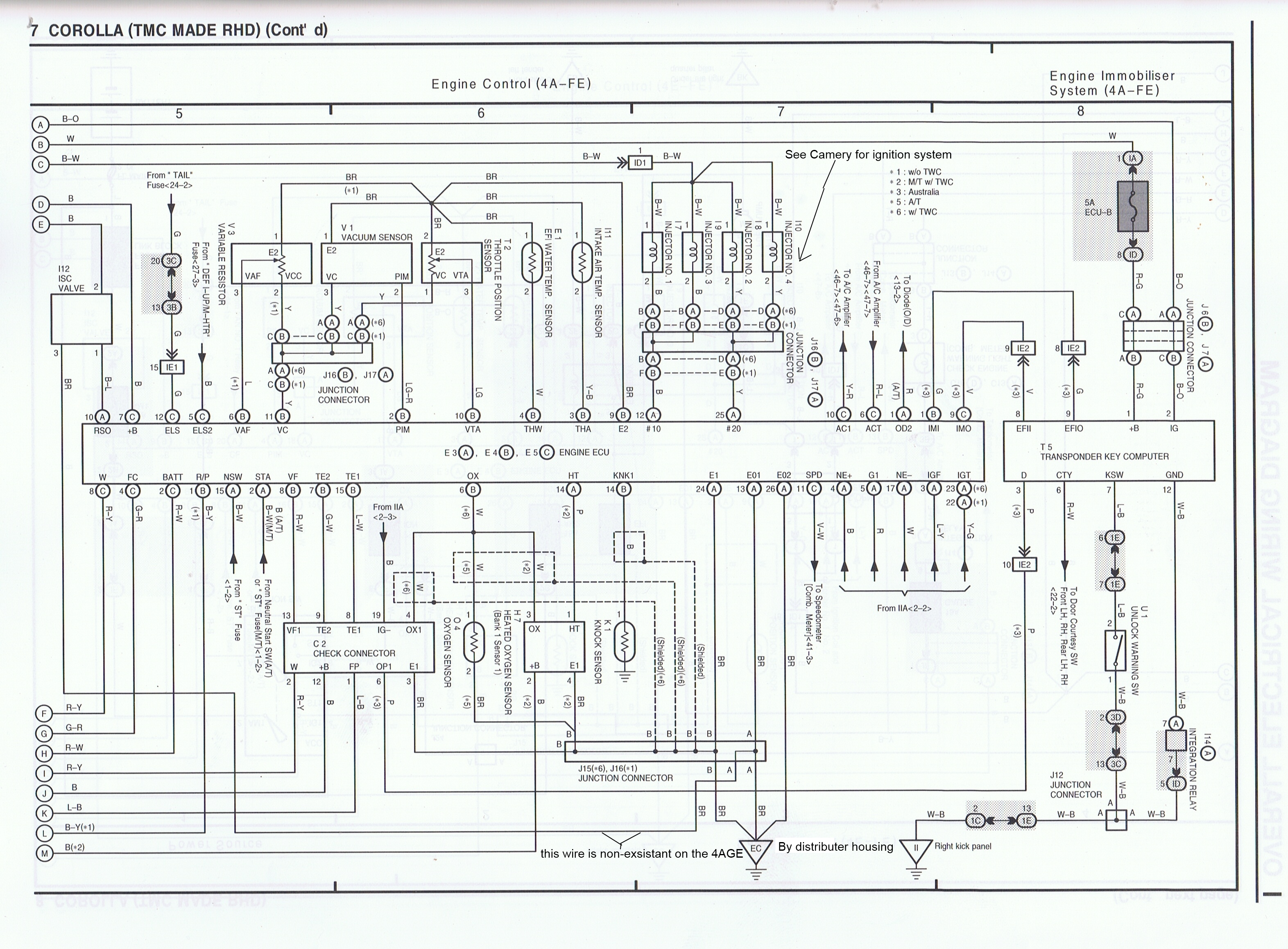Toyota Ae111 4age Advanced Electrical Wiring Diagrams The Two Schematic Diagram I Just Found That There Is A Proper Fuel These Http Pictureshackus Images 22464 Gram 2