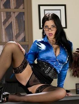 Big Tits At Work - Rebeca Linares - Social Sexworking Cover