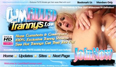CumFilledTrannys  � Siterip Cover