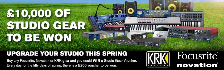 Focusrite Spring Promotion
