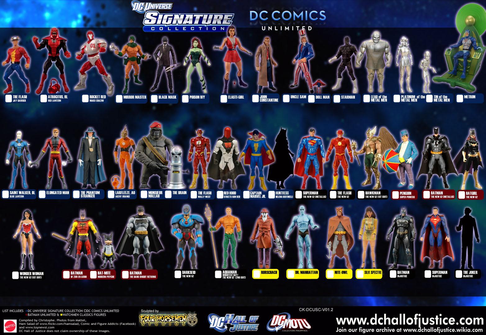 DC Comics Unlimited Action Figures