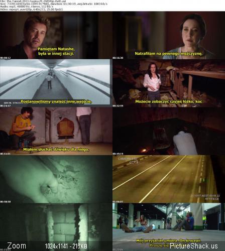 Tunel / The Tunnel [2011] [DVDRip XviD] [Wtopione Napisy PL]