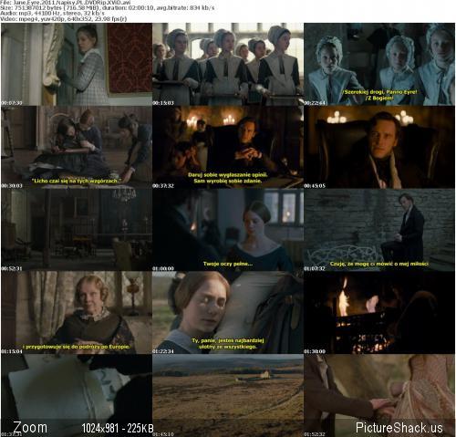Jane Eyre [2011] [DVDRip XviD] [Wtopione Napisy PL]