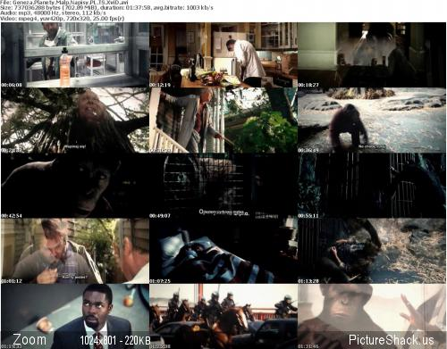 Geneza Planety Ma�p / Rise Of The Planet Of The Apes [2011] [TS XviD] [Wtopione Napisy PL]